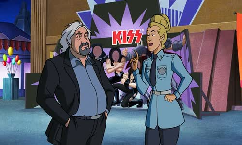 Scooby-Doo a skupina Kiss - Scooby-Doo! and Kiss Rock and Roll Mystery - 2015 BRrip CZdabing.avi